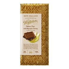 Whittaker's Nelson Pear and Manuka Honey 100g
