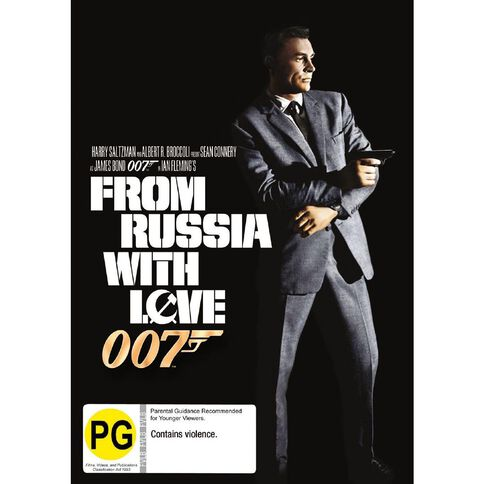 From Russia with Love 2012 Version DVD 1Disc