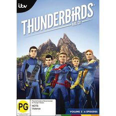 Thunderbirds are Go Volume 2 DVD 1Disc