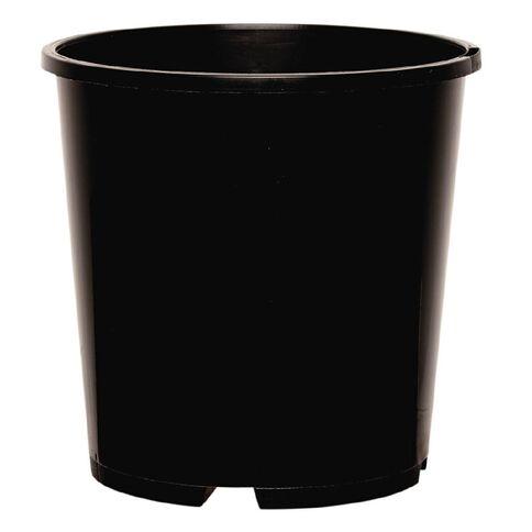 Pot Round Black 2L