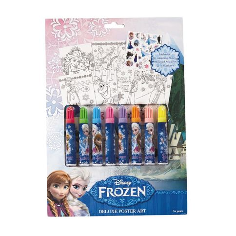 Disney Frozen Deluxe Poster Art Set