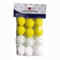 Maxfli Mixed Practice Ball 12 Pack
