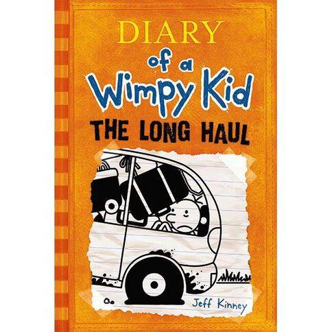Diary of a Wimpy Kid #9 Long Haul by Jeff Kinney