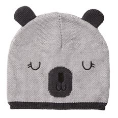 Hippo + Friends Baby Boy Infants' Novelty Beanie