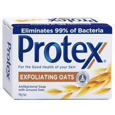 Protex Exfoliating Oats Bar Soap 90g