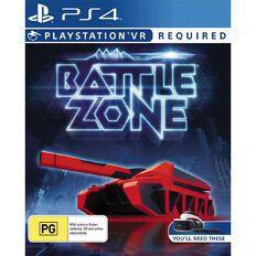 PS4 VR Battlezone