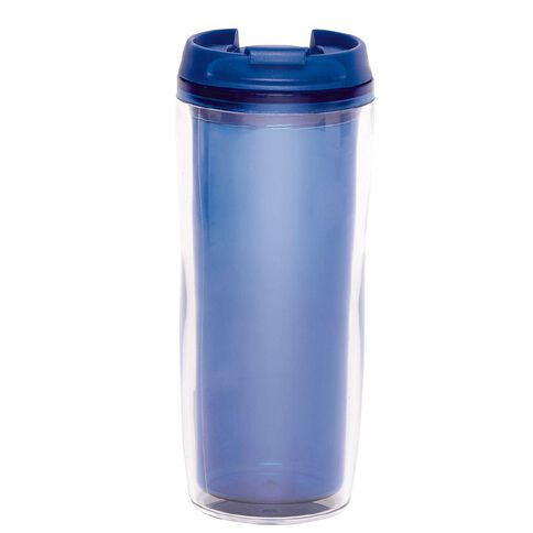 Living & Co Travel Tumbler Blue