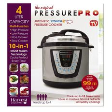 As Seen On TV Pressure Pro Cooker 4L