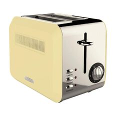 Living & Co Toaster Vintage 2 Slice Creme