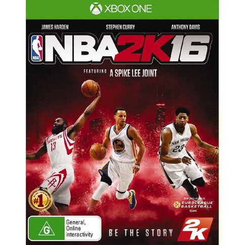 XboxOne NBA 2K16