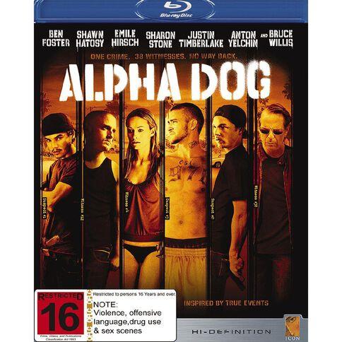 Alpha Dog Blu-ray 1Disc