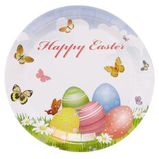 Party Inc Easter Plates 22cm 6 Pack