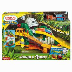 Thomas & Friends Fisher-Price Take 'n Play Jungle Quest Play Set