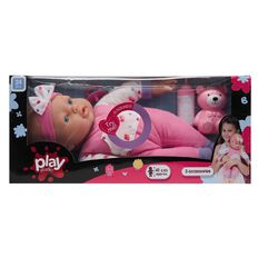 Play Studio Talking Soft Baby Doll 41cm