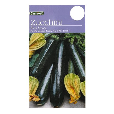 Carnival Seeds Zucchini Vegetable