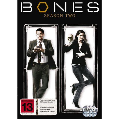 Bones Season 2 DVD 6Disc