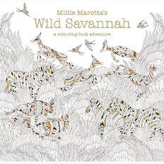 Wild Savannah:A Colouring Book Adventure by Millie Marotta