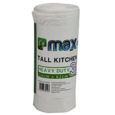 Max Choice Kitchen Tidy Bags Tall 30L 35 Pack