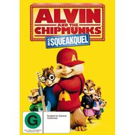 Alvin and The Chipmunks The Squeakquel DVD 1Disc