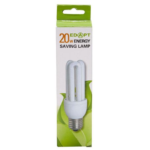 Edapt Mini Energy Saver 3U 20W Edison Screw