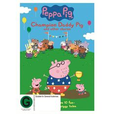 Peppa Pig Champion Daddy Pig DVD 1Disc