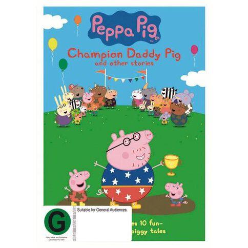 Peppa Pig Champion Daddy Pig DVD 1Disc
