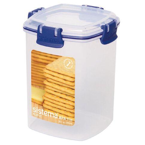 Sistema Klip It Blue Cracker 900ml