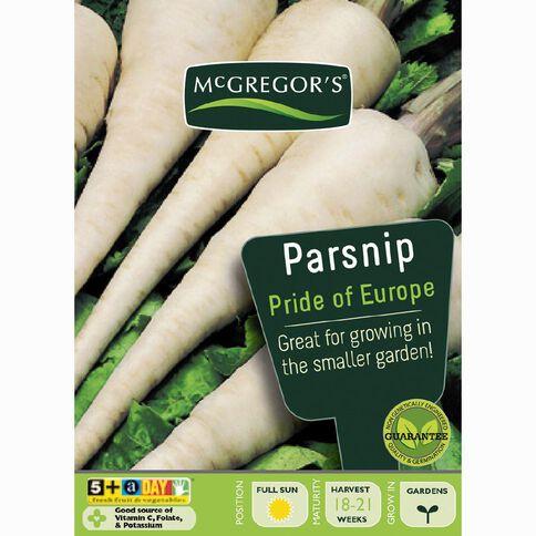 McGregor's Parsnip Pride of Europe Vegetable Seeds