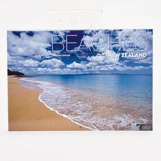 Calendar 2017 NZ Beaches Wall 317mm x 222mm