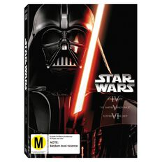 Star Wars Original Trilogy DVD 3Disc