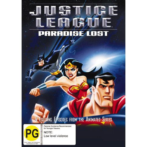 Justice League Paradise DVD 1Disc