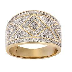 1/2 Carat of Diamonds 9ct Gold Diamond Fancy Ring