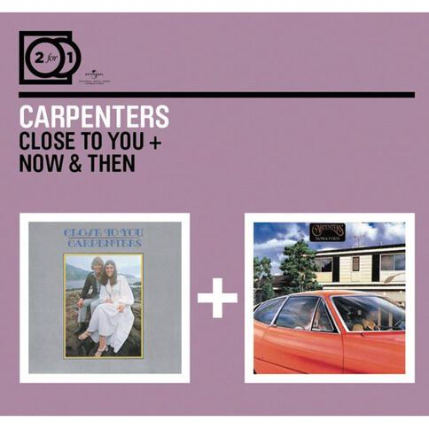 2 for 1 Close to You/Now & Then CD by The Carpenters 2Disc