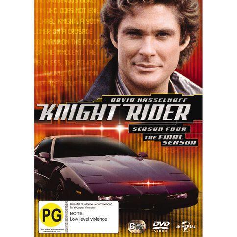 Knight Rider Season 4 DVD 1Disc