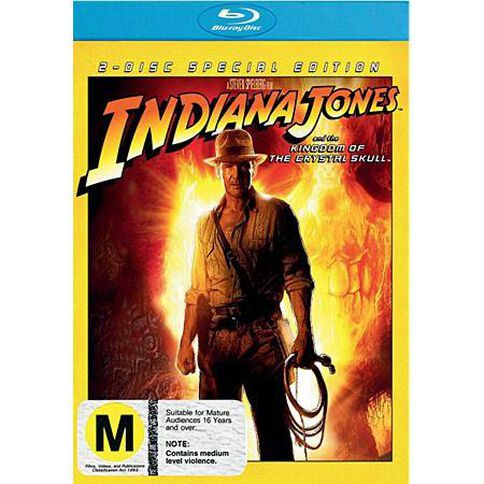 Indiana Jones Crystal Skull Blu-ray 1Disc