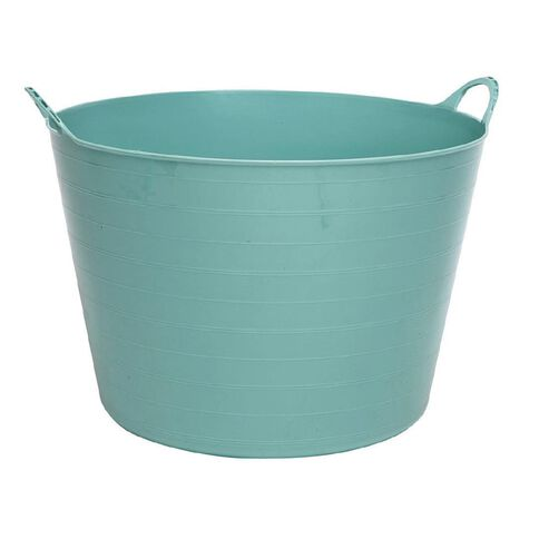 Taurus Flexi Tub Round Green Light 60L