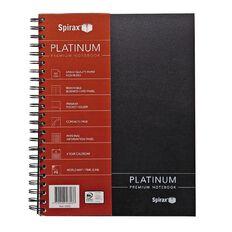 Spirax Notebook 400 Platinum A4