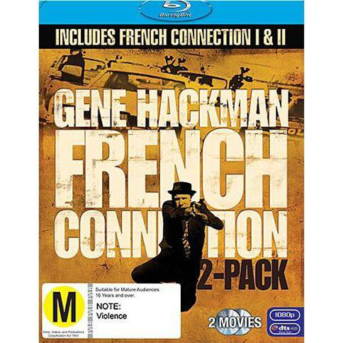 French Connection 1 And 2 Blu-Ray 2 Blu-ray Discs