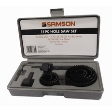 Samson Hole Saw Set 11 Piece
