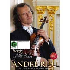 Andre Rieu Magic of the Violin DVD 1Disc