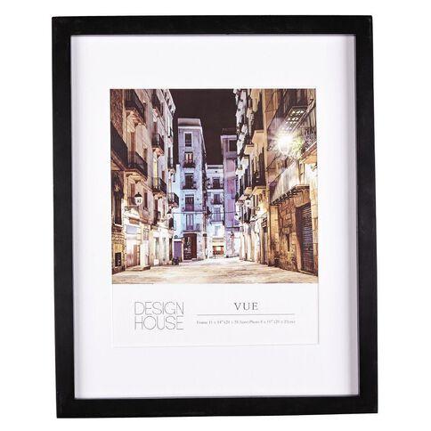 Design House Frame Vue Black 20cm x 25cm (8in x 10in)