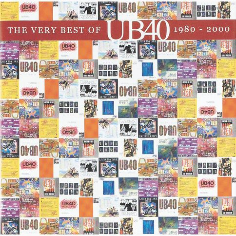 The Very Best of 1980-2000 CD by UB40 1Disc