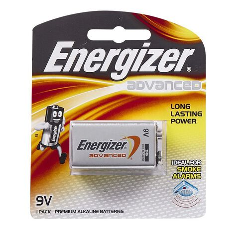 Energizer Advanced Battery 9 Volt