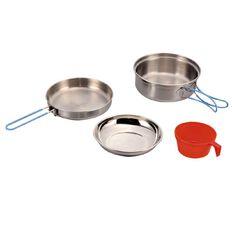 Necessities Brand Stainless Steel Cook Set 4 Piece