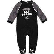 All Blacks Infants' Slogan All-In-One
