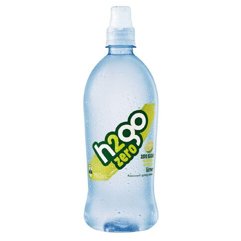 H2go Zero Lime Sipper 750ml