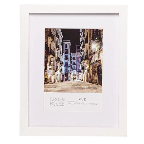 Design House Frame Vue White 13cm x 18cm (5in x 7in)