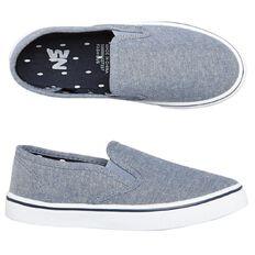 WZ Fashion Gusset Canvas Slip-on Shoes