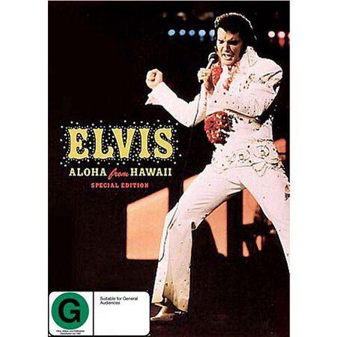 Presley Elvis Aloha Hawaii Special Edition DVD
