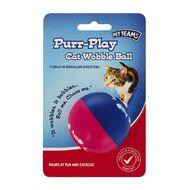 Pet Team Purr-Play Wobble Ball